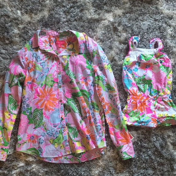cd19615ebb Lilly Pulitzer Nosey Posey Mommy   Me Bundle